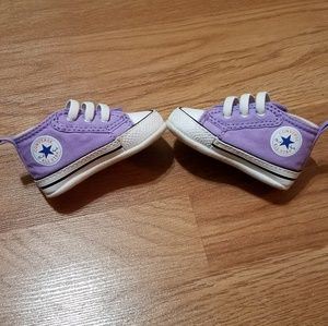 Infant Converse First Star Prewalkers size 1